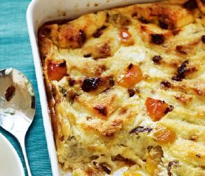 C4L Apricot bread pudding image