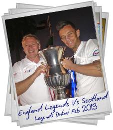 England Legends Vs Scotland Le