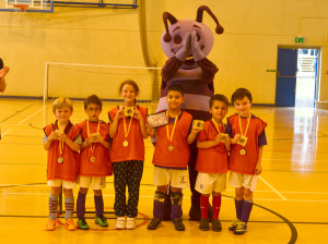 FootieBugs through its children's football development programme aims to introduce children to the fun, healthy and exciting world of football.