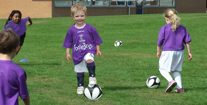 footiebugs preston - fun football for kids aged 3-11 years