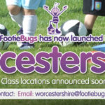 Footiebugs has launched in Worcestershire!