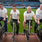 Former Villa heroes support '7-in-Seven' cycle challenge