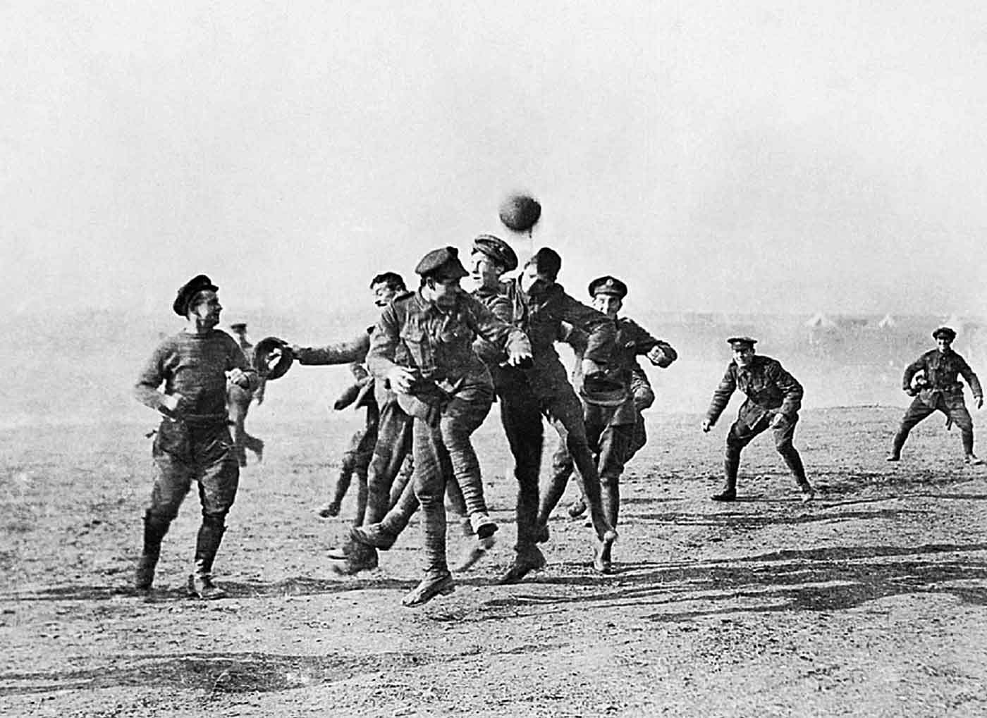 Footballs-famous-World-War-I-truce-match-photo-by-Chester-Chronicle