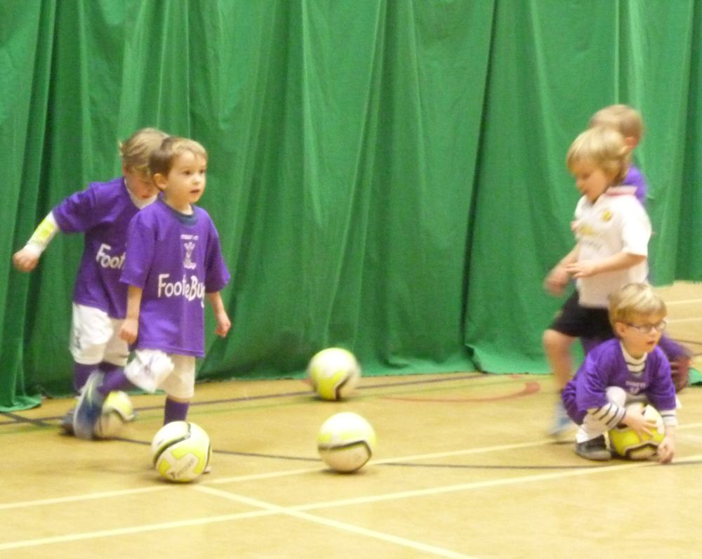 Footiebugs Slough - fun football for kids aged 3-11 years