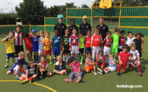 Footiebugs slough - summer holiday camp 2016