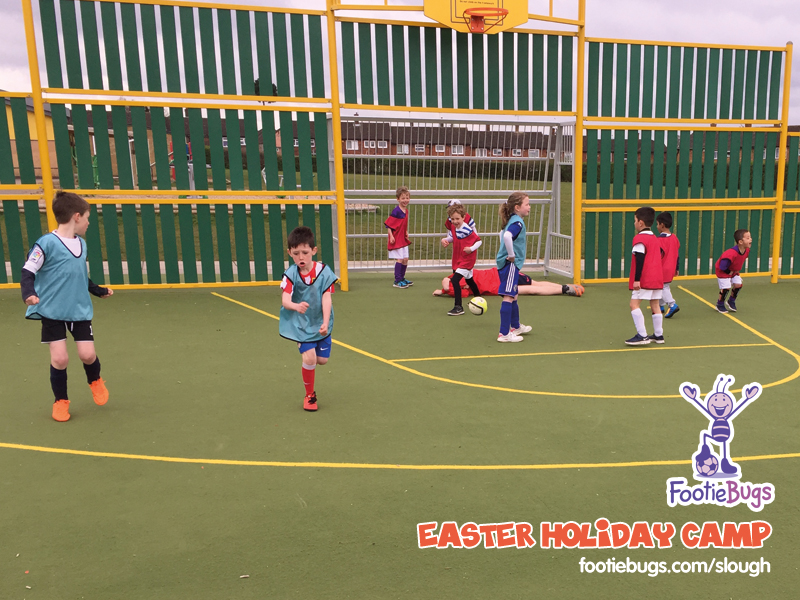 Footiebugs slough - easter holiday camp 2016