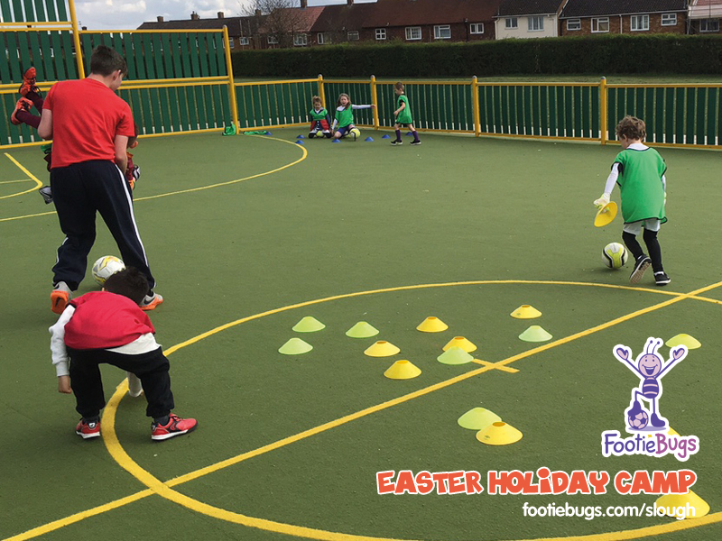 Footiebugs slough - easter holiday camp 2016 (5)