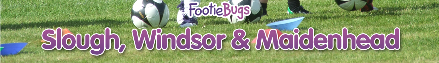 FootieBugs Slough - Fun football for kids aged 3-11 years!