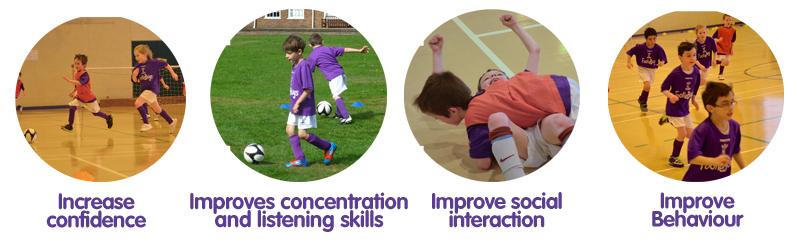 FootieBugs - fun football for kids from 3-11 years, book a free taster!