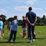 Jack Rutter Inspired 'Future Stars' at FootieBugs Solihull Holiday Camp