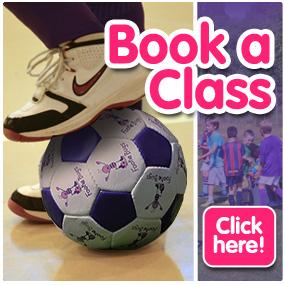 FootieBugs book a class